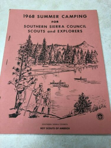 1968 Summer Camping for Southern Sierra Council Guidebook