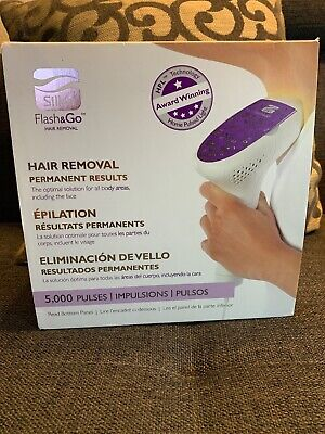 New In Sealed Box Silk'n Flash & Go Hair Removal Device 5000