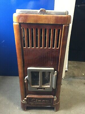 woodburning stove French 1930's 'Ciney'-Good condition-Collection only