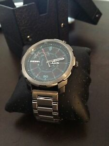 Diesel Watch, Never Worn, Protective Plastic and Tags On.