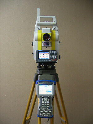 Leica Geomax Zoom80 Carlson Cr2 2 Prismrless Robotic Total Station Surveyor2