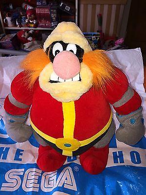 "Sega World Sydney Dr Robotnik/Eggman Large Plush 16"""