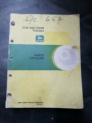 John Deere 2155 And 2355n Tractors Parts Catalog