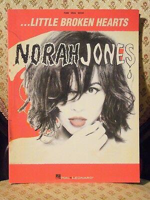 Norah Jones - Little Broken Hearts Music Songbook Pop Popular Rock Ravi Shankar!