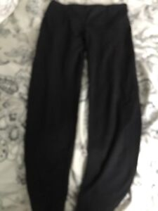 Denver Hayes Black Leggings (Size Small) Blue Sweats (Med)