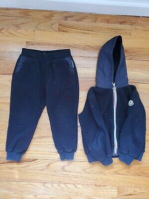 Moncler Completo Maglia Cardigan + Pantalone 4 Anni 104cm