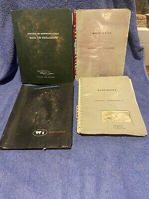 Westronicsmidwestern Instruments 590 Oscillograph Manual Flight Recorder 1960s