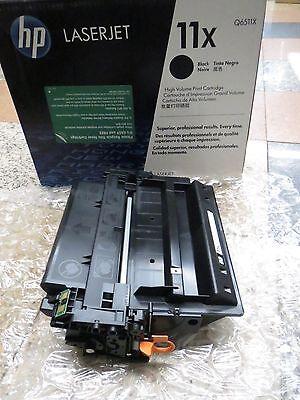 GENUINE NEW HP 11X Q6511X Black Toner Cartridge LaserJet 2410 2420 2430