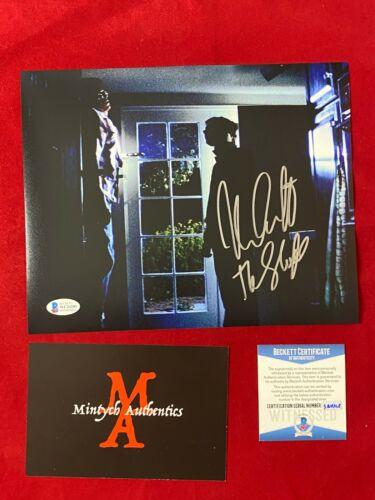 NICK CASTLE AUTOGRAPHED SIGNED 8X10 PHOTO! HALLOWEEN! MICHAEL MYERS! BECKETT COA