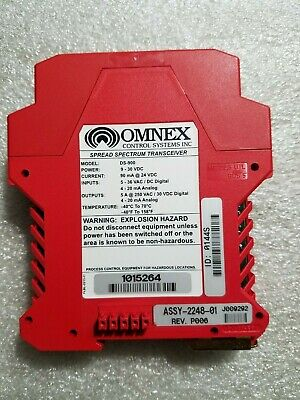 Omnex Ds-900 Spread Spectrum Transceiver Assy-2248-01