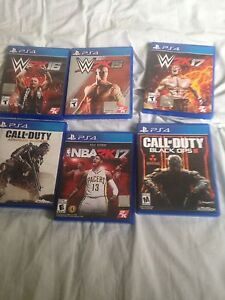 Selling PS4 games!