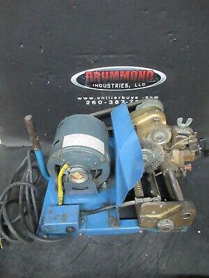 Curtis 2000k Key Cutter Machine Duplicator Vintage Ge Motor 115 Vac 1 Ph 4.4 A