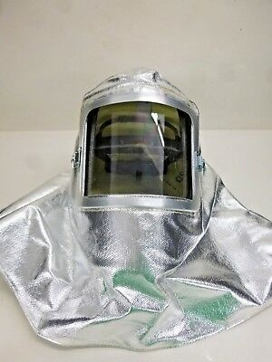 New Steel Grip Hood Aluminized Thermonol Ath451a