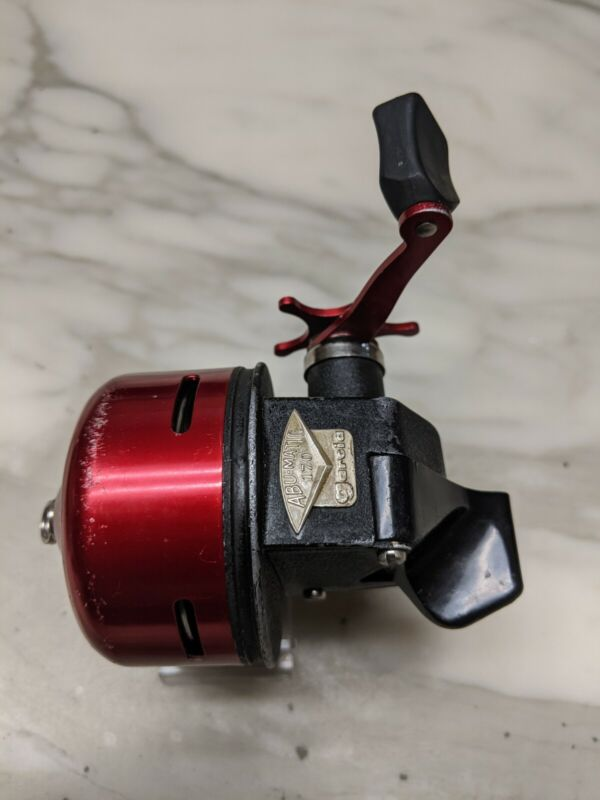 Vintage GARCIA ABU-Matic 170 Spincast Reel in very clean and lubed condition Wow