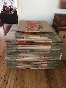 72 secondhand moving boxes South Turramurra Ku-ring-gai Area Preview