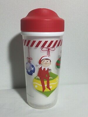 Christmas Sippy Cups (Zak! BPA Free No Spill Sippy Cup Toddler 8.7 oz The Elf on the Shelf)