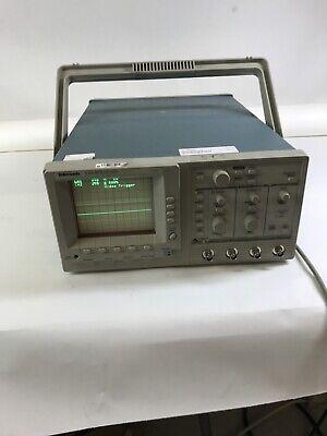 Tektronix Tas475 4 Channel 100 Mhz Analog Oscilloscope Power Tested