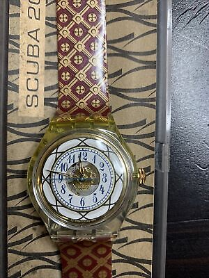 vintage scuba 200 watch 90s Water Resistance 656 Feet Automatic Working Per