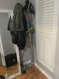 Ikea Ekrar hat and coat stand, stainless steel - $10