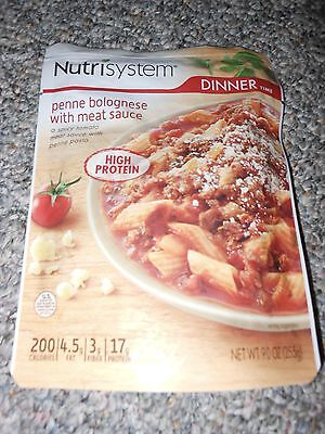Nutrisystem Dinner Lot Of 6 Penne Bolognese With Meat Sauce