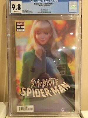 Symbiote Spider-Man #1 Artgerm Variant Unread NM
