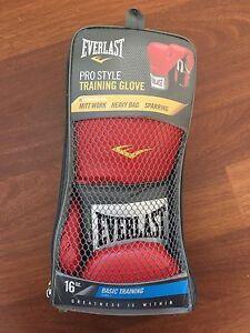 Everlast Pro Style Boxing Training Gloves Mitchelton Brisbane North West Preview