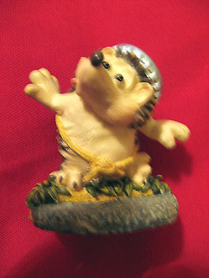 COLLECTIBLE 1994 EDWARD J.HOGG & FREINDS COLLECTION HEDGEHOG FIGURE/ORNAMENT XXX