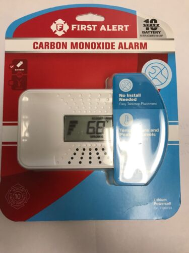 First Alert Carbon Monoxide Alarm 8496