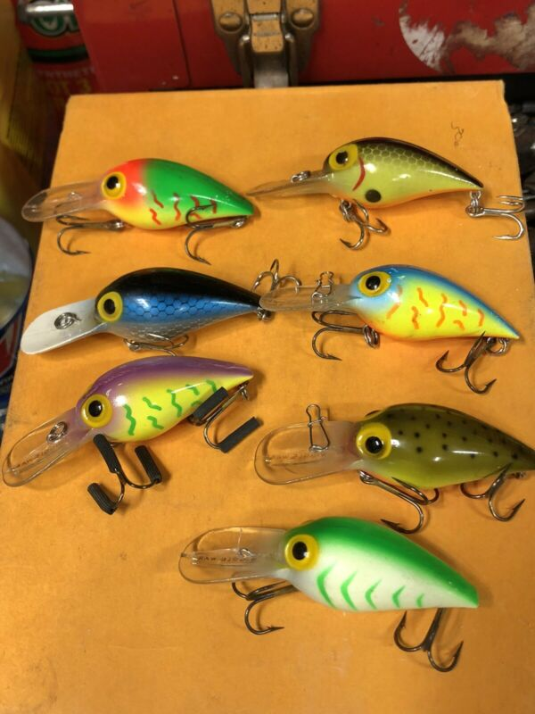 7 pre rapala wiggle wart Lot Storm Lures