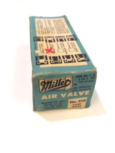Miller Fluid Power Pneumatic Air Valve No. 310