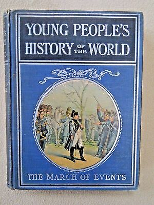 Vintage Young Peoples History Of The World The March Of Events By Morris