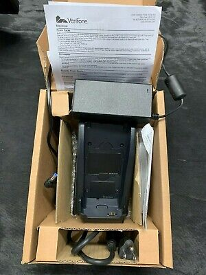 Verifone Vx680 Vx680-b-btc Charging Cradle Ac Adapter M268-s02-08 Pw268-001-01-b