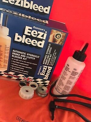 GUNSON TOOLS UK EEZIBLEED Automotive Bleeder Pedal Bleeding Tool - DIY Tool