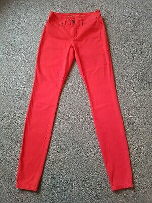 Ladies Red skinny jeans | Size Small | Size 8 | Jacqueline de YONG | Stretch