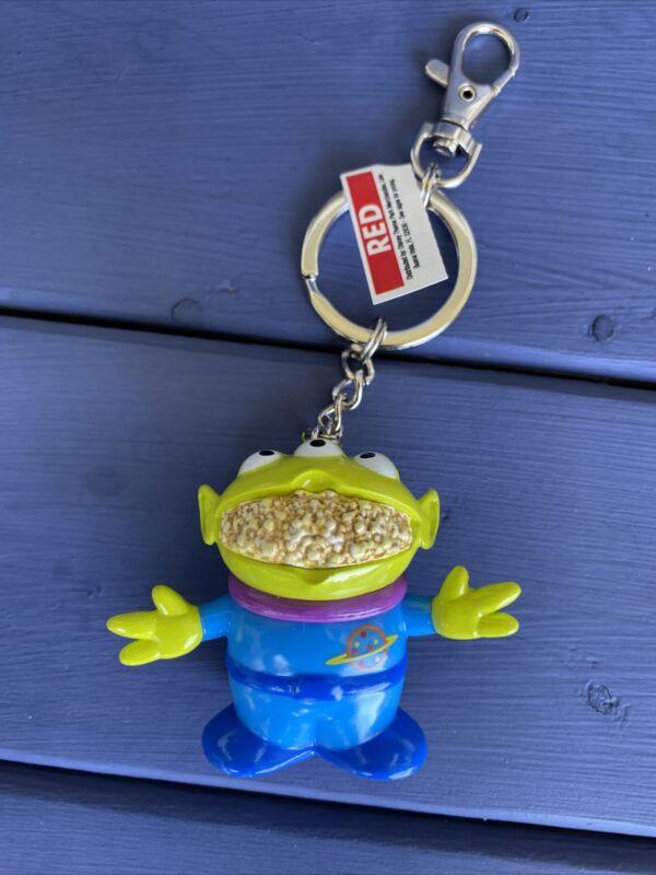 Disney Parks Keychain Toy Story - Little Green Men Alien Popcorn Bucket Replica