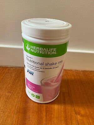 HERBALIFE NUTRITIONAL SHAKE MIX FORMULA 1 sostituto del pasto FRUTTI BOSCO 550...