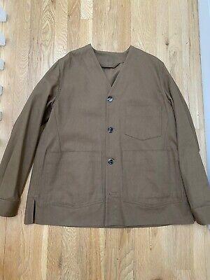 ACNE Studios dark brown khaki Method jacket S/S 17 $420 original