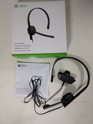 Microsoft Xbox One Chat Headset Black S5V-00014