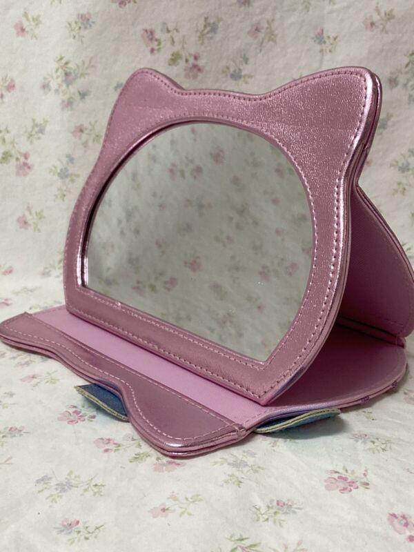 Hello Kitty Sanrio Foldable Holographic Vanity Compact Mirror