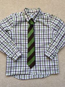 Boy Shirt & Tie - Size 4T