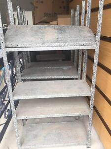 Adjustable metal storage shelves $20 each (3 units available) Coorparoo Brisbane South East Preview