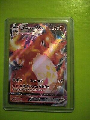 Charizard Vmax 020/189 Fullart Darkness Blaze Pokemon Card