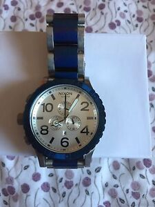 Men's Nixon 51-30 chrono watch