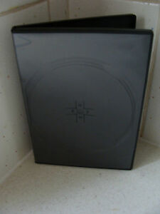 Case-DVD-CD-Replacement-1-For-4-Discs-Black-14mm