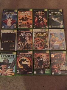 Rare original x box RPGs very hard to find some of these