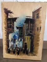 Iraqische Öl Bild Gemälde 70 x50 cm München - Thalk.Obersendl.-Forsten-Fürstenr.-Solln Vorschau