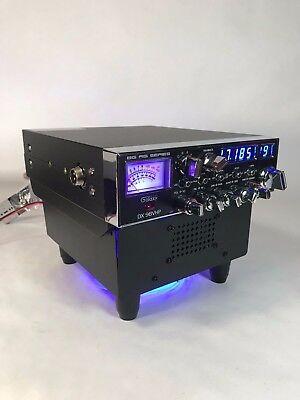 BLUE LED FAN KIT BASE STAND w/ Built In Ext Speaker GALAXY RANGER CB HAM Radios