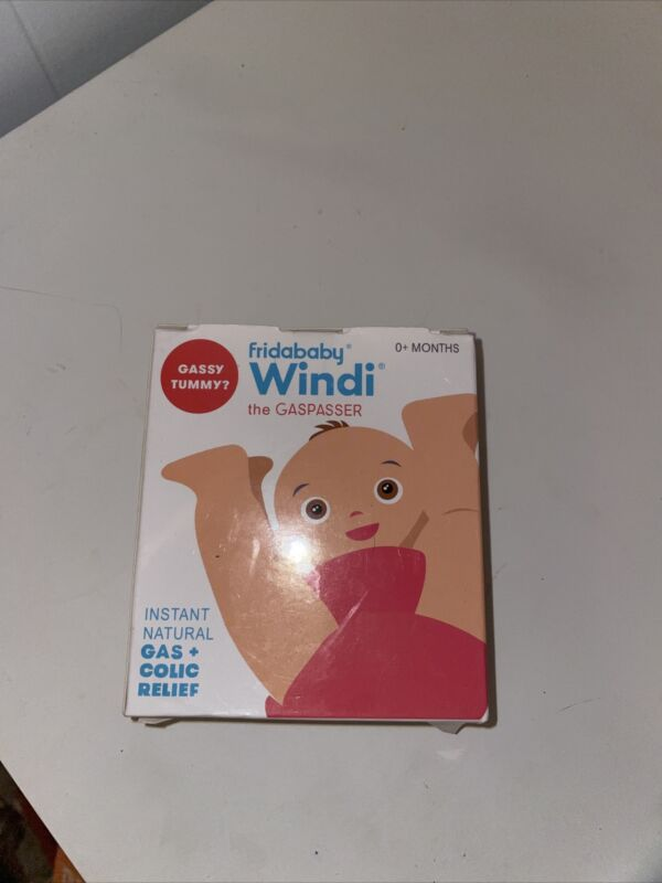 Fridababy Windi The Gaspasser- Has & Colic Reliever for Babies 0+ Months