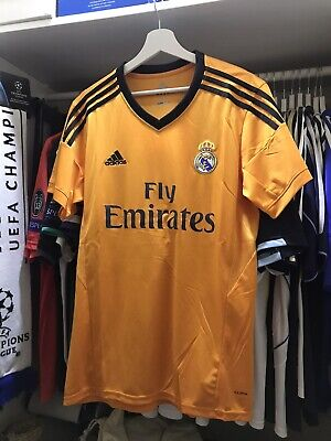 Maglia Real Madrid 2013/2014 Adidas Away Ronaldo Modric Taglia S M CR7...