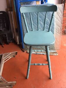 Free kitchen bench chair. Very stable and strong. Frankston Vic